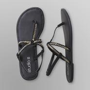 Studio S Women's Thong Sandals - Rhinestones at Kmart.com