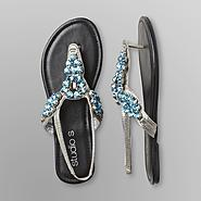 Studio S Women's Thong Sandals - Jewels at Sears.com