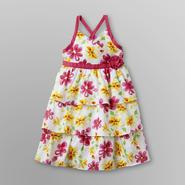 Penny M Infant & Toddler Girl's Sundress - Floral & Swiss Dots at Sears.com