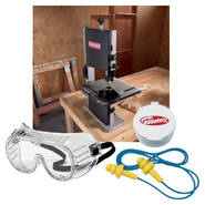 Craftsman 2.5 amp 9'' Band Saw and Safety Gear Bundle ...