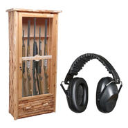 Wood Gun Cabinet and Hearing Protection Bundle at Sears.com