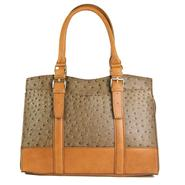 Mondani Women's Satchel Handbag - Faux Ostrich at Sears.com
