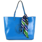 Women's Shopper Handbag & Scarf