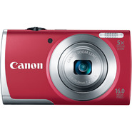 Canon 16.0-Megapixel PowerShot A2500 Digital Camera - Red at Kmart.com