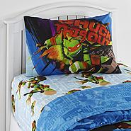 Nickelodeon Teenage Mutant Ninja Turtles Boy's Twin Sheet Set at Kmart.com