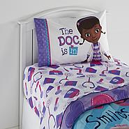 Disney Doc McStuffins Girl's Twin Sheet Set at Kmart.com