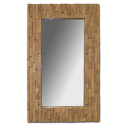 Leick Reclaimed Wood 32 x 20 Rectangular Mirror at Kmart.com