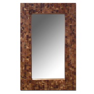 Leick Reclaimed Teak 32 x 20 Rectangular Mirror at Kmart.com