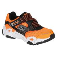 Skechers Boys Jogger Airz Orb - Orange/White at Sears.com