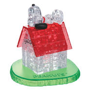 Bepuzzled 3D Crystal Puzzle - Snoopy House: 50 Pcs at Kmart.com