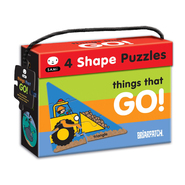 Briarpatch SAMi 4 Shape Puzzles - Things That Go!: 23 Pcs at Kmart.com