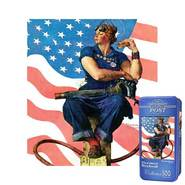Masterpieces Puzzles Rosie the Riveter Puzzle in a Tin: 500 Pcs at Sears.com