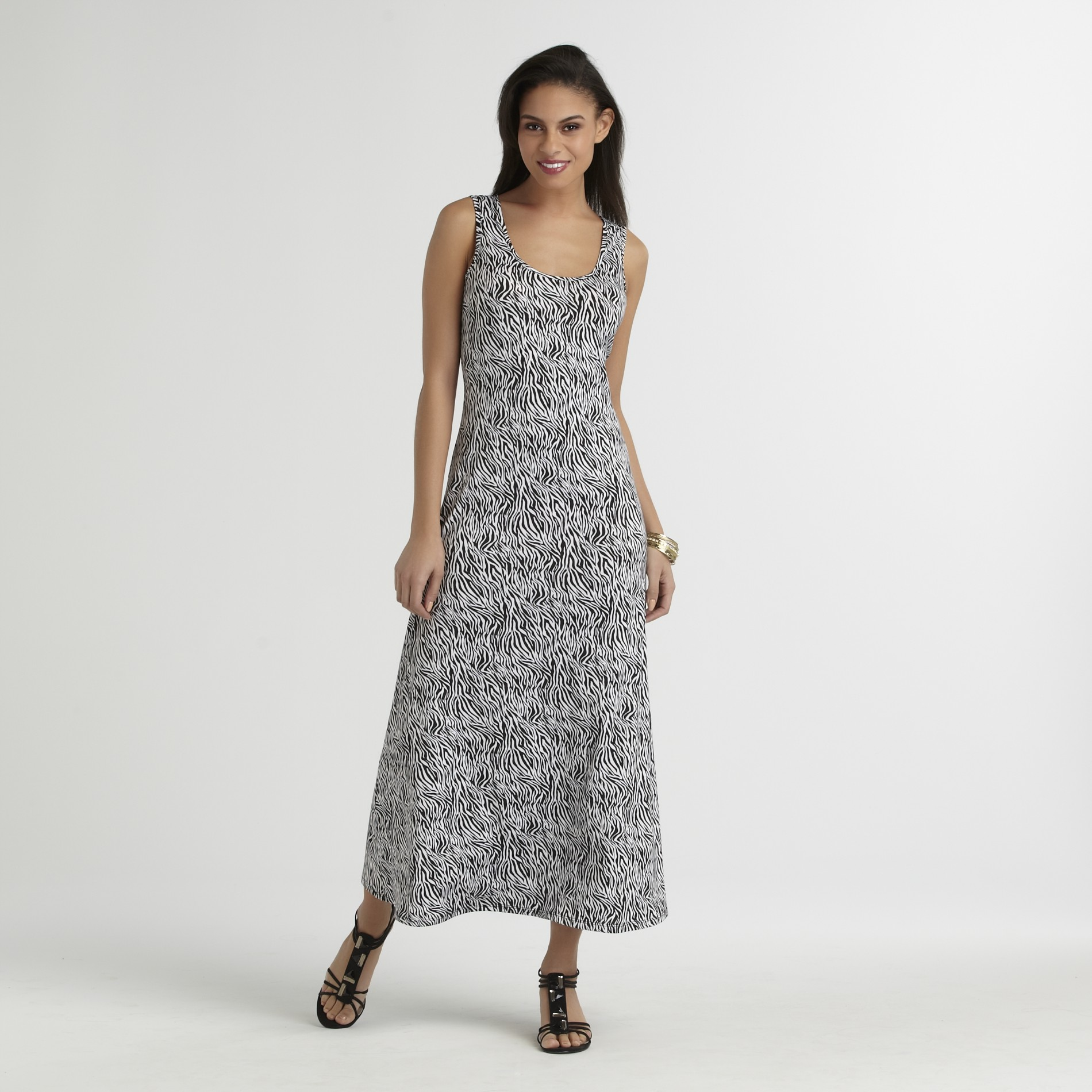 JBS Women's Maxi Dress - Zebra Print at Sears.com