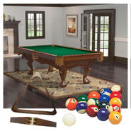 Brunswick Billiards Table with Rack & Pool Cue Bundle at Sears.com