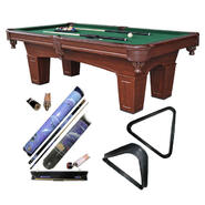 Media Sports Billiard Table with Rack & Pool Cue Bundle at Sears.com