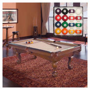 Contender by Brunswick Billiard Table with Rack & Pool Cue Bundle at Sears.com