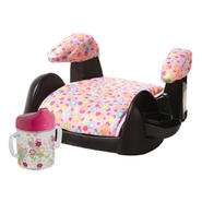 Pink Backless Booster Seat and Sippy Cup Bundle      ...
