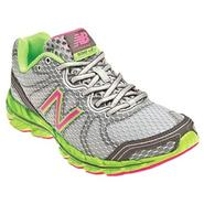 New Balance Women's Athletic Shoe 590V2 - Silver/Lime/Pink at Sears.com