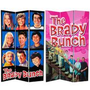 Oriental Furniture 6 ft. Tall Double Sided Brady Bunch Canvas Room Divider at Kmart.com