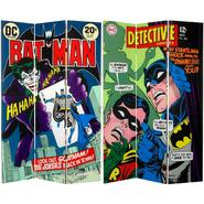 Oriental Furniture 6 ft. Tall Double Sided Batman and The Joker Canvas Room Divider at Kmart.com