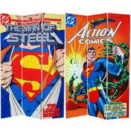 Oriental Furniture 6 ft. Tall Double Sided Superman Man of Steel Canvas Room Divider at Kmart.com