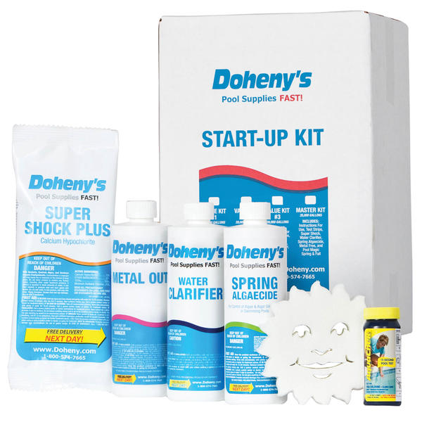 Doheny 39 S Water Warehouse Pool Spring Start Up Kit 10 000 Gal Pools Toys Games Swimming