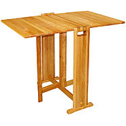 Catskill Fold-A-Way Butcher Block Table at Kmart.com