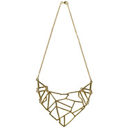 Bongo Junior's Tribal Necklace - Goldtone at Kmart.com
