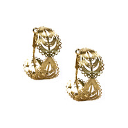 Bongo Junior's Filigree Earrings - Goldtone at Kmart.com