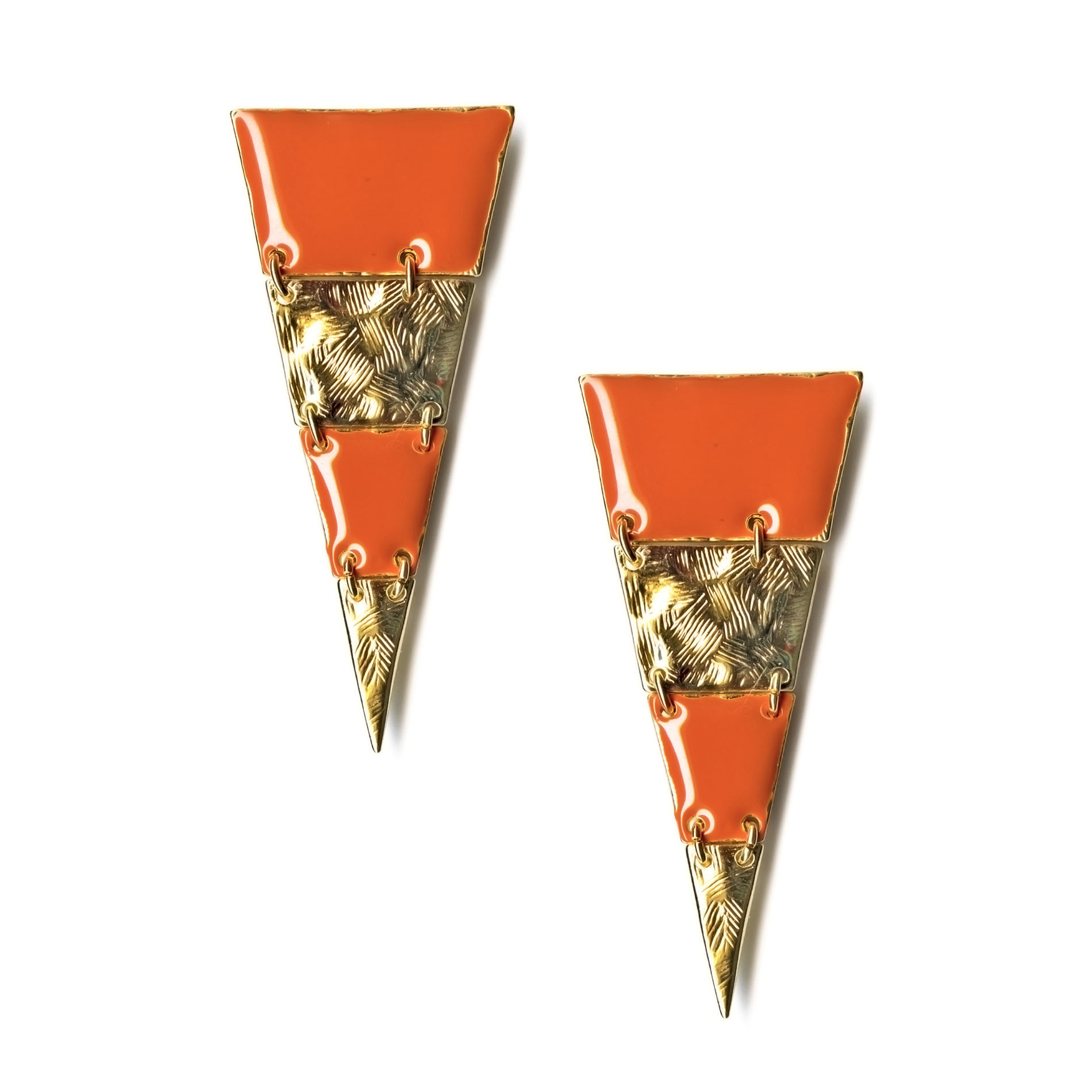 Bongo  Junior's Geometric Earrings -