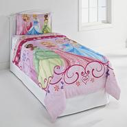Disney Princess Girl's Twin Comforter - Arrive In Style at Kmart.com