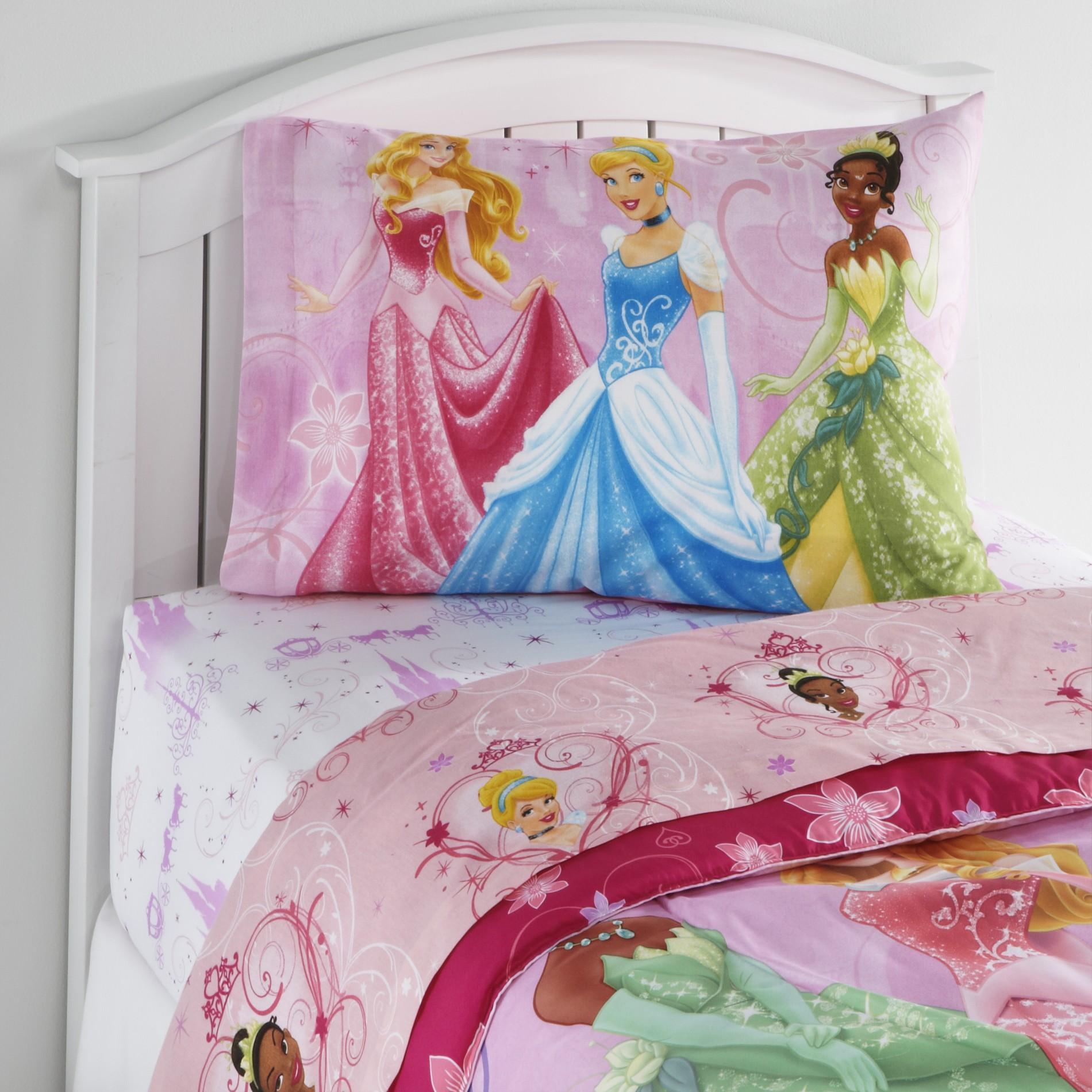 Disney Princess Girl's Twin Sheet Set