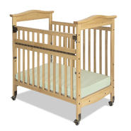 Foundations Biltmore SafeReach Compact Crib, Clearview, Natural at Kmart.com