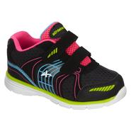 Athletech Toddler Girl's Sneaker Willow 2 - Black Multi - Everyday Great Price at Kmart.com