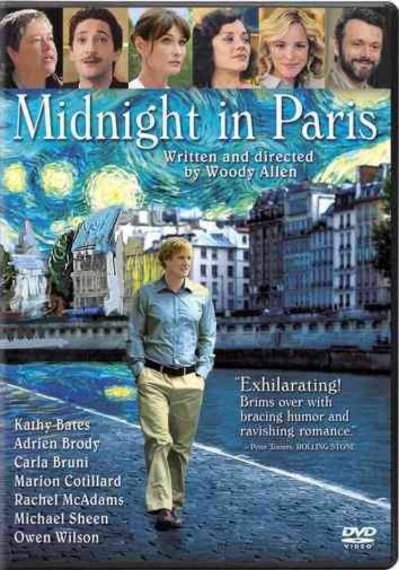 Sony Midnight in Paris [DVD] PartNumber: 017W004346526001P KsnValue: 017W004346526001 MfgPartNumber: 38526