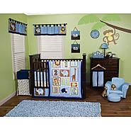 Jungle 123 - 3 Piece Crib Bedding Set & Crib Bumpers Bundle at Sears.com