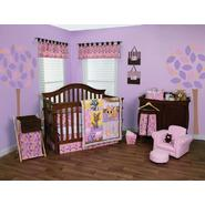 Lola Fox and Friends - 3 Piece Crib Bedding Set & Crib Bumpers Bundle at Sears.com