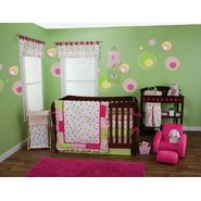 Splash Pink - 3 Piece Crib Bedding Set & Crib Bumpers Bundle at Sears.com