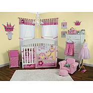 Storybook Princess - 3 Piece Crib Bedding Set & Crib Bumpers Bundle at Sears.com