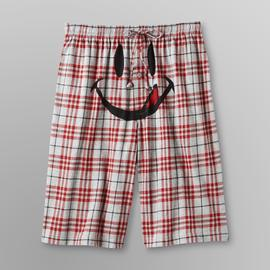 Joe Boxer Men's Knit Pajama Shorts - Smiley at Kmart.com