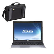 ASUS 15.6'' K55N-RIN4 Notebook PC with AMD A8-4500M APU Processor & Case Logic Laptop Case Bundle at Sears.com