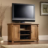 Sauder French Mills Panel TV Stand at mygofer.com