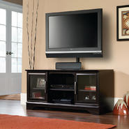 Sauder Panel TV Stand w/Post-Mount at Sears.com