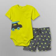 Little Wonders Infant Boy's Bodysuit & Shorts - Surfer at Kmart.com