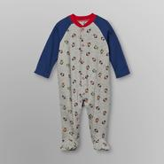 Little Wonders Infant Boy's Footed Sleeper Pajamas - Monkeys at Kmart.com