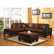 Venetian Worldwide Dallin Sectional Sofa-Chocolate at Sears.com
