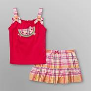 Little Wonders Infant Girl's Tank Top & Skirt - Watermelon at Kmart.com