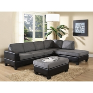 Venetian Worldwide Dallin Sectional Sofa-Grey at Sears.com