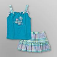 Little Wonders Infant Girl's Tank Top & Skirt - Butterfly at Kmart.com