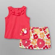 Little Wonders Infant Girl's Tank Top & Skirt - Toucan at Kmart.com